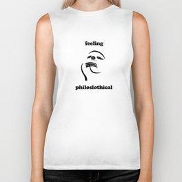 Feeling Philoslothical Biker Tank