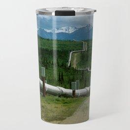 Alaska Pipeline Travel Mug