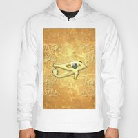 all seeing eye Hoodies featuring The all seeing eye by nicky2342