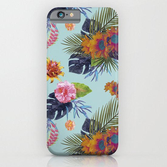 TROPICAL FLORAL iPhone & iPod Case