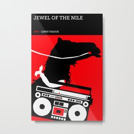 Jewel of the Nile Metal Print