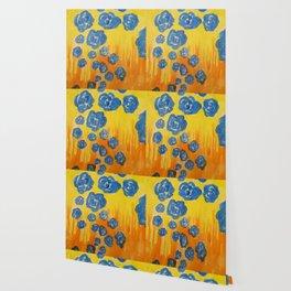 Blue Rose Fall Wallpaper