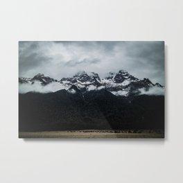 Black Mountain Totem Metal Print