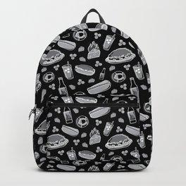 Skyline Chili Pattern Night Backpack