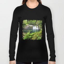 A magic lake deep in the woods Long Sleeve T-shirt