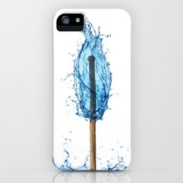 water flame iPhone Case