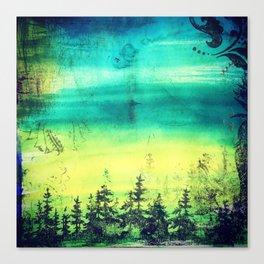 Resting Season Canvas Print