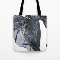 leather & ballet skeleton Tote Bag