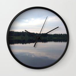 Baesic Reflective Lake Wall Clock
