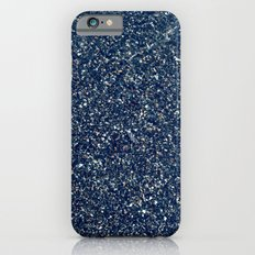 Black Sand II (Blue) iPhone 6s Slim Case
