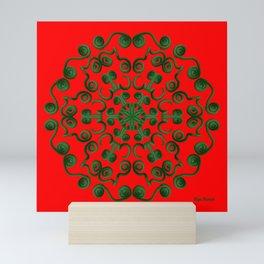 Roja Navidad Mini Art Print