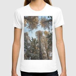 sky trees T-shirt