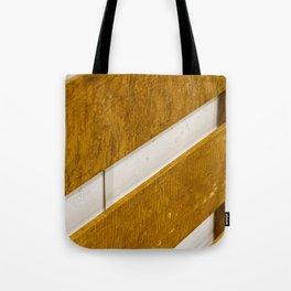 Lines Wood Tote Bag
