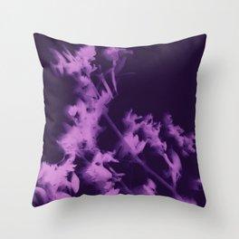 botanical - ultra violet Throw Pillow
