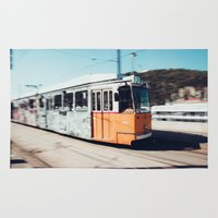 budapest hotel Area & Throw Rugs featuring Budapest by Johnny Frazer