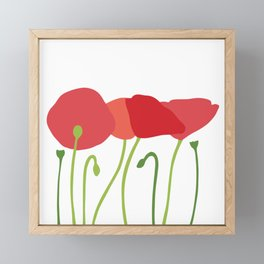 Field of Poppies Framed Mini Art Print
