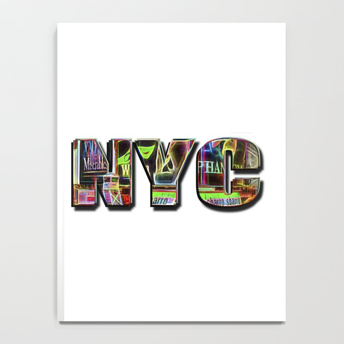 NYC (typography) Notebook