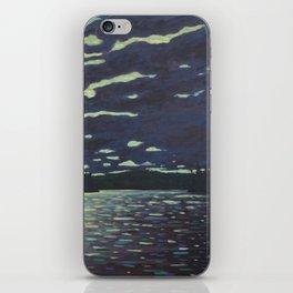 Moonlight – McIntosh Lake, Algonquin Park iPhone Skin