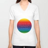 teacher V-neck T-shirts featuring {Teacher -Dance} by tutubi creative
