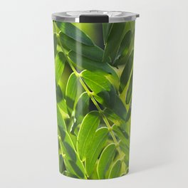 Sunny Leaves Travel Mug