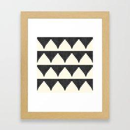 Lash in Black and White Framed Art Print
