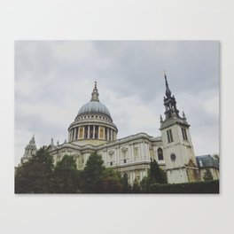St. Paul's Cathedral - London, UK Canvas Print