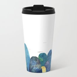 the moutains are comming Metal Travel Mug