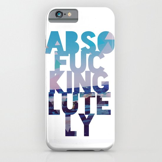 Abso....lutely! II iPhone & iPod Case
