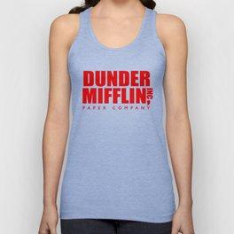 Dunder Mifflin Logo Unisex Tank Top