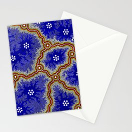 Aboriginal Art Authentic – Water Wetlands Stationery Cards