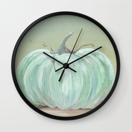 Ready for Fall Cinderella pumpkin Wall Clock