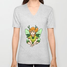 Forest fairy magic fairy tales dust Children Gift Unisex V-Neck