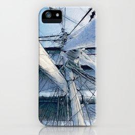 Nautical Sailing Adventure iPhone Case