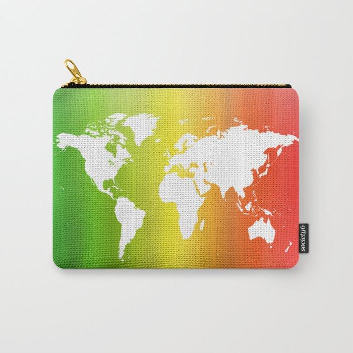 Rainbow Earth Carry-All Pouch