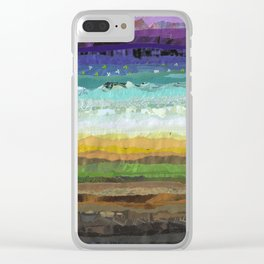 Sunday Brunch Clear iPhone Case