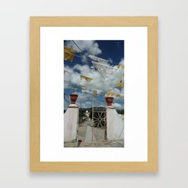 pozos Framed Art Print