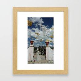 pozos Framed Art Print