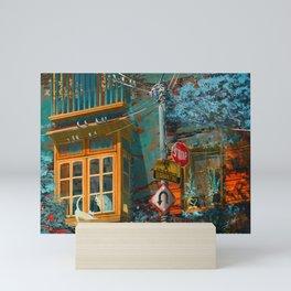 Unapproachable Mini Art Print