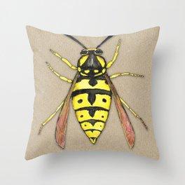 Wasp Throw Pillow