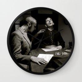'Spirit Writing' (c)Joel Stephen Birnie 2014 Wall Clock