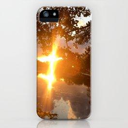 Mystic River Mindfulness iPhone Case