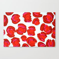abstract cheetah print Canvas Print