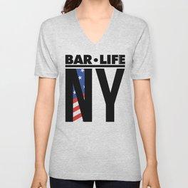 NY Bar•Life Unisex V-Neck