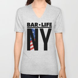 NY Bar•Life Unisex V-Neck