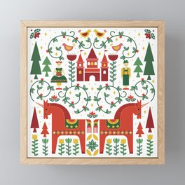 Scandinavian Inspired Fairytale Framed Mini Art Print