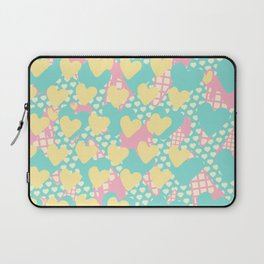 Smashed Pastel Icecreams Laptop Sleeve