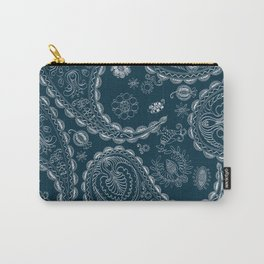 Floral paisley design  Carry-All Pouch