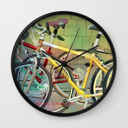 Bicycle Therapy Focus Wall Clock