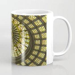 Tiffany Dome of the Chicago Cultural Center Coffee Mug