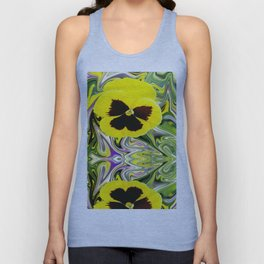 Solo Flower Unisex Tank Top